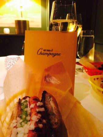 Hot Dogs and Champagne