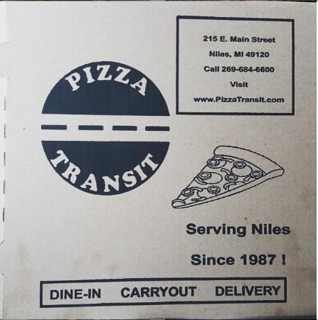 Pizza Transit: Pizza Box