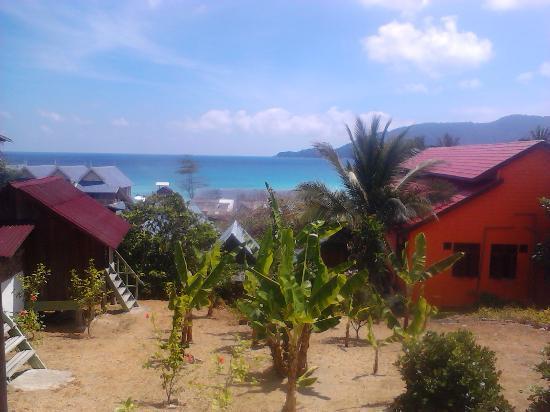 Bintang View Chalet and Restaurant: Linda vista
