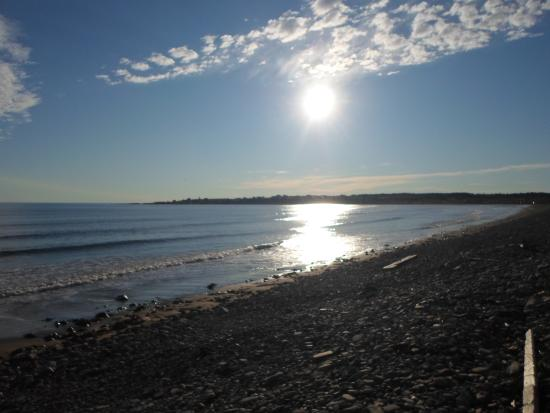 Cape View Motel and Cottages : Beautiful Beach