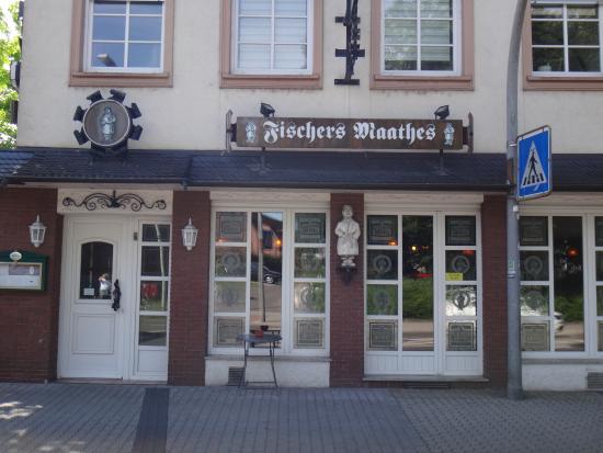 Fischers Maathes : Вход в ресторан