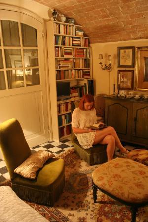 Parodi Ligure, Italia: livingroom