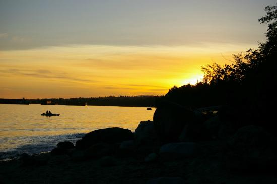 North Vancouver, Canada: Cates Park at sunset