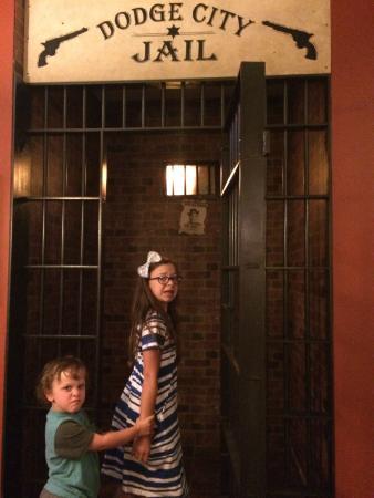 Best Western Plus Country Inn & Suites: Cute jail replica in lobby =)
