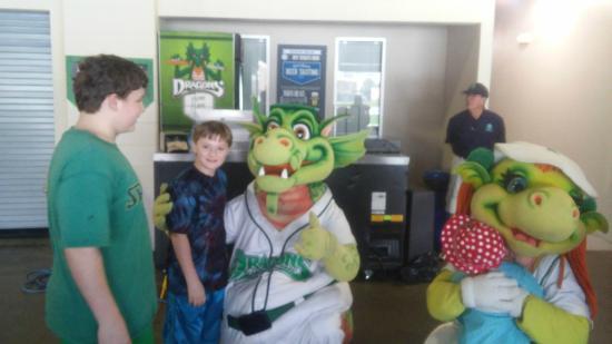 Heater & Gem - Picture of Dayton Dragons Baseball - TripAdvisor