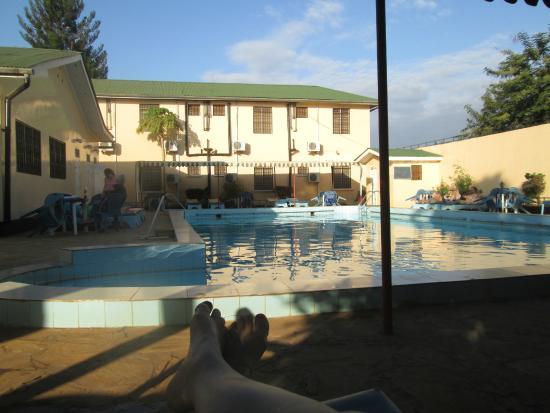 Springlands Hotel: The pool area