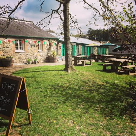 Llandwrog, UK: Caffi'r Gath Ddu/The Black Cat Cafe
