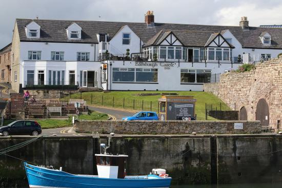 The Bamburgh Castle Inn From Jetty