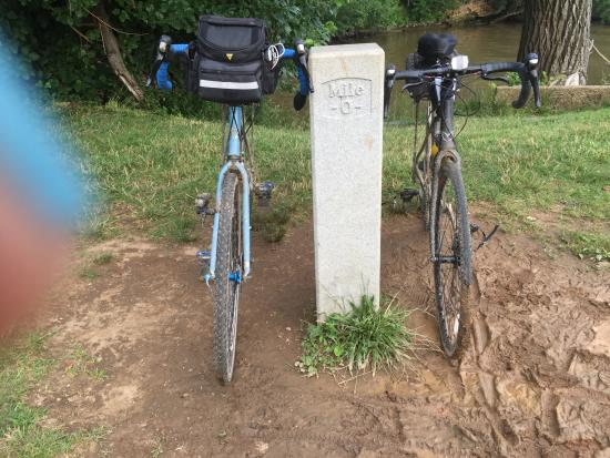 C&O Canal Towpath: Milepost 0 - Georgetown