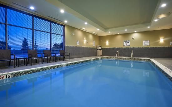 Holiday Inn Express Toronto - North York : Indoor Pool
