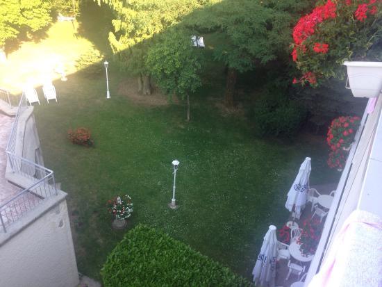 Hotel Meyer : Udsigt fra balkon