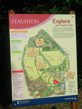 Staunton Park: Park Map