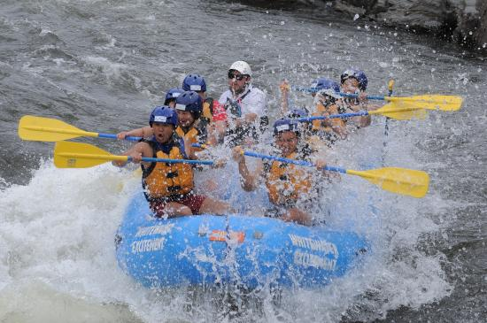 Whitewater Excitement: Making memories!