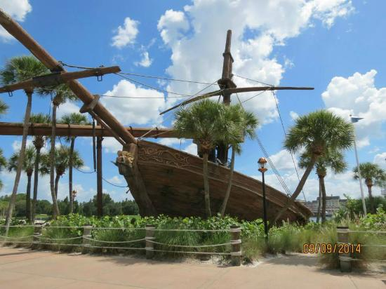 Shipwreck Water Slide Picture Of Disney S Yacht Club