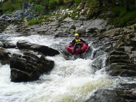 Full On Adventure: white water tubing