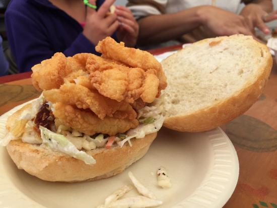 Mojo's: Texas Fish Sandwich