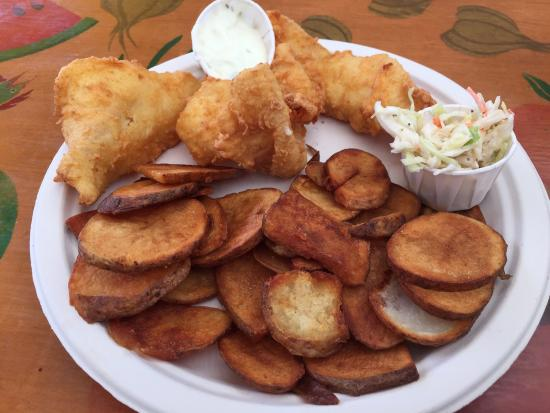 Mojo's: Fish and chips