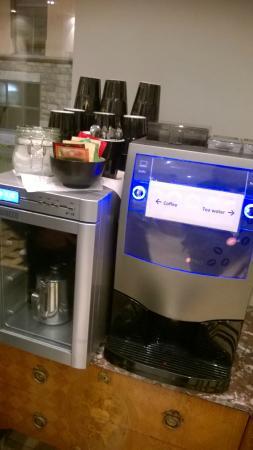 Rex Petit: Distributore bevande calde a disposizione degli ospiti