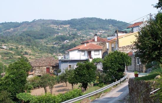 Nogueira de Ramuin, إسبانيا: Subida desde Celeiros a O Val