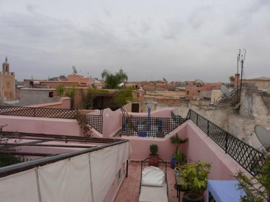 Riad Dar Eliane: 屋上からの風景