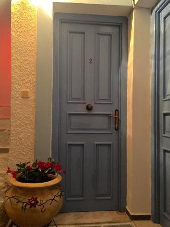 Pension Elektra: Room door