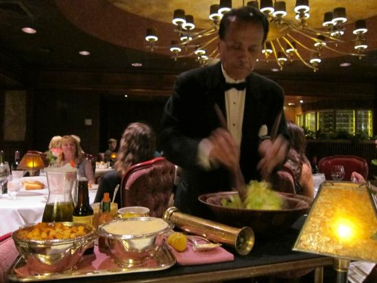 Caesar Salad Tableside Picture Of Harrah S Steakhouse Reno