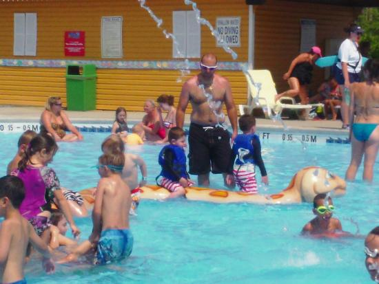 One of the kiddie pools picture of myrtle waves water - Splash wave pool public swim hours ...