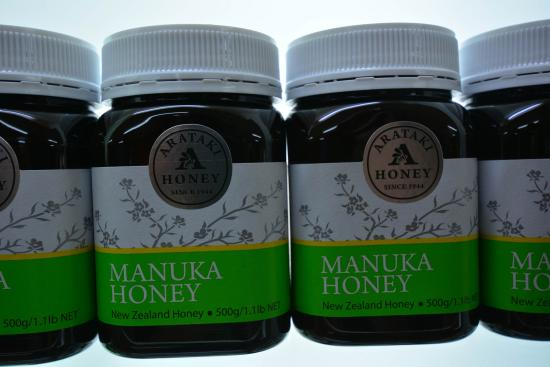 Arataki Honey Visitor Centre: Manuka Honey