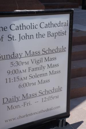 Cathedral of Saint John the Baptist: Mass Schedule