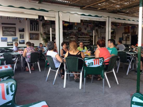 Tolox, Испания: Restaurant