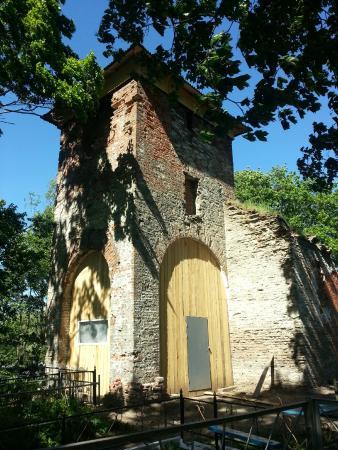 Ropsha, Rosja: Руины старинной церкви