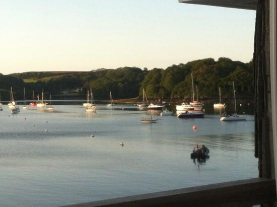 St Mawes, UK: View from window