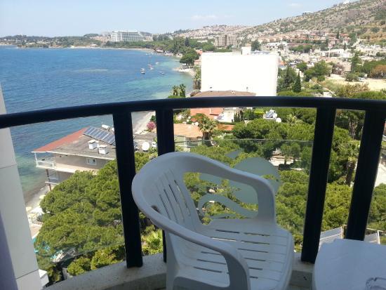 Hotel Grand Ozcelik: Вид из номера