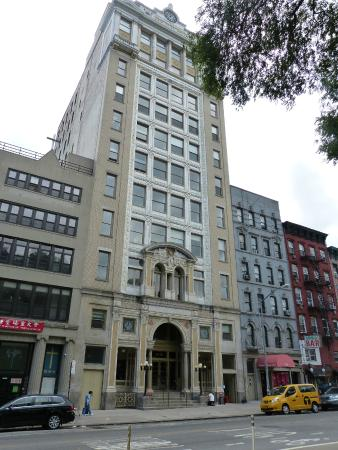 city building side. The Lower East Side Jewish Conservancy  Forward Building Newspaper Turned Condo Picture Of