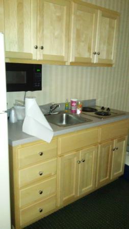 The Beachmark Motel: kitchen