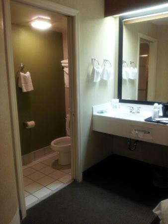 Sleep Inn Murfreesboro: Bathroom