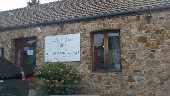 Lessay, Francia: Restaurant de la Lande