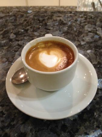 Grand Hotel Adriatico: Fantastico caffé preparato al bar dell'Hotel