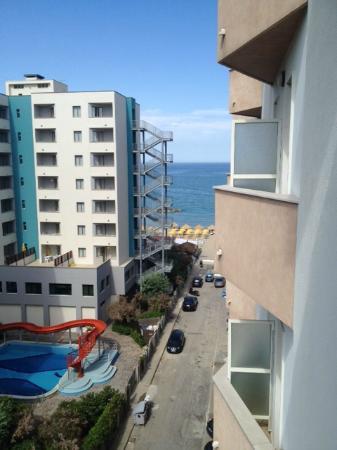 Grand Hotel Adriatico: Vista mare dal balcone della camera