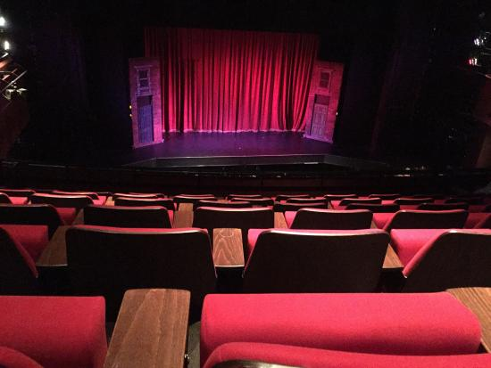 Curve Theatre: View of stage from upper circle