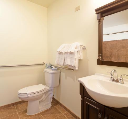 Western Inn Motel: Bathroom