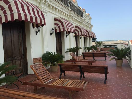 Armadores de Santander Hotel: Balcony