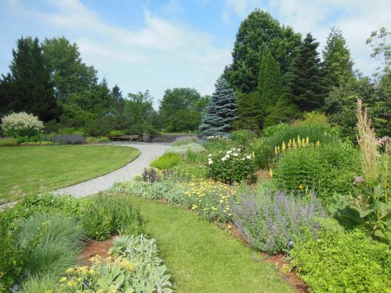 Berkshire Botanical Garden: The Perennial Beds Are Well Established With A  Varied Assortment Of