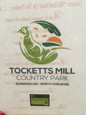 Tocketts Mill Country Park & Restaurant: WELL WORTH A VISIT
