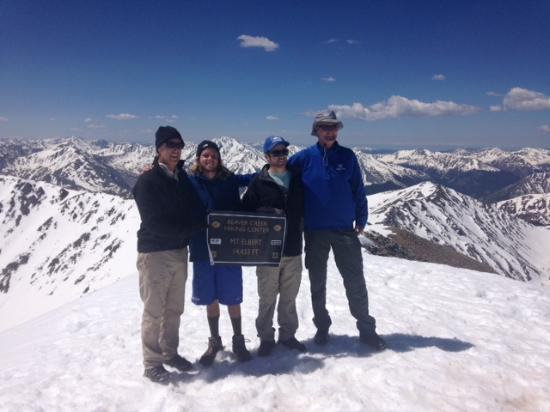Beaver Creek Hiking Center: Top of Mount Elbert