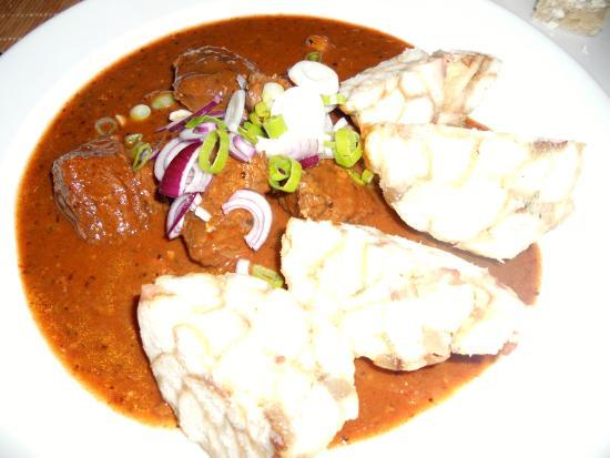Restaurace Pod Vysehradem: Goulash with Dumplings