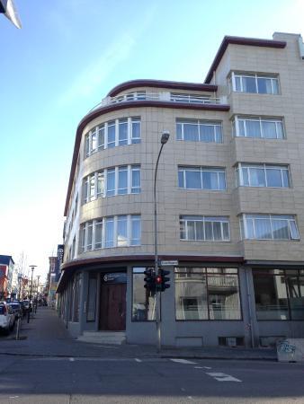 CenterHotel Klopp: The main entrance to Centrehotel Klopp