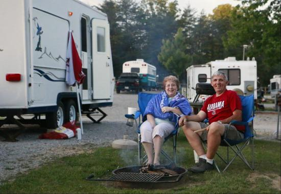 Mountain Glen RV Park & Campground: Relaxing