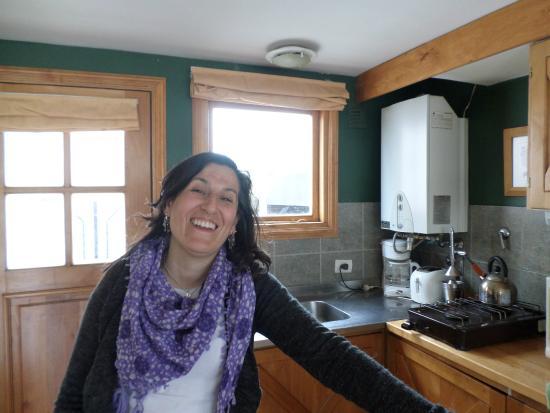 Candelas de Ushuaia: Cocina