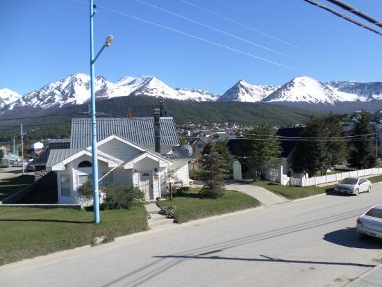 Candelas de Ushuaia: Vista desde la habitacion